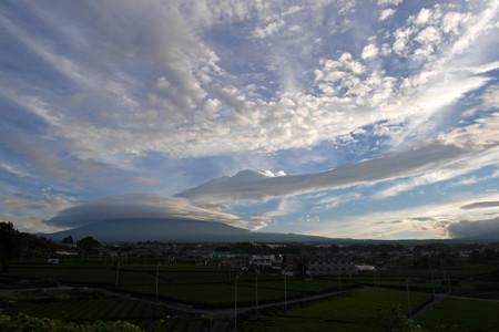 9月6日朝の富士山