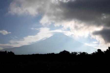 富士山登場