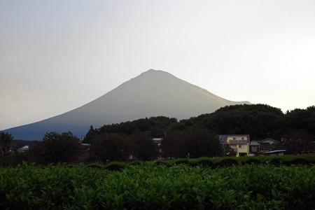 9月26日朝の富士山