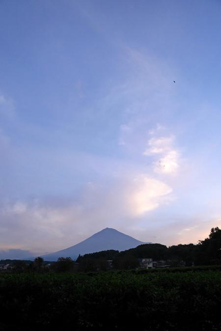 10月5日朝の富士山