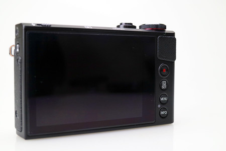 PowerShot G9 X本体背面