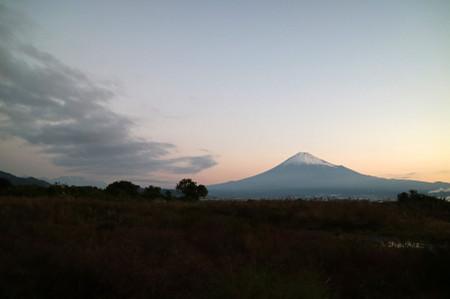 11月12日の富士山