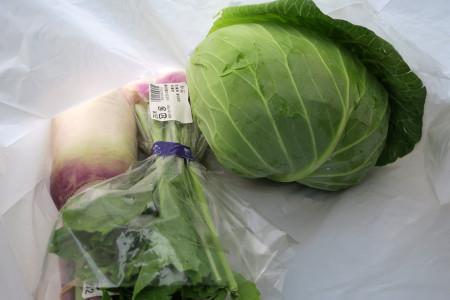 野菜をGET!