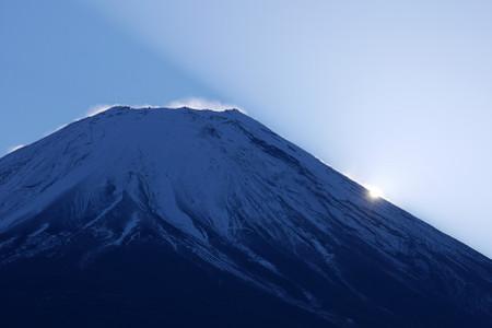 富士ヶ嶺からはコンディションよし!