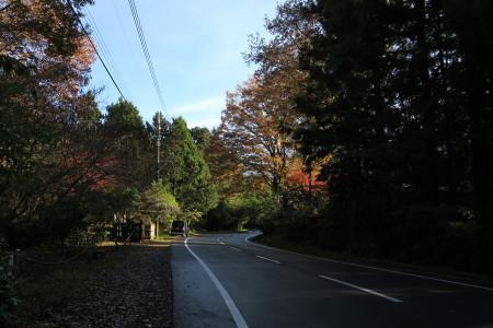 県道71号へ