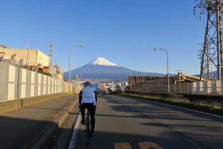 富士市街を抜ける