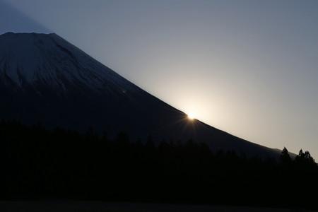 2017年富士山からの初日の出