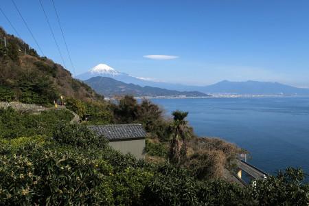 薩た峠からの富士山
