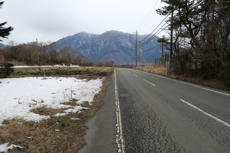 富士ヶ嶺の空はどんより