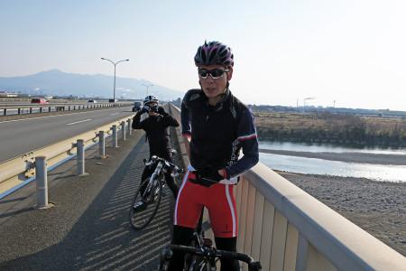 新富士川橋にて
