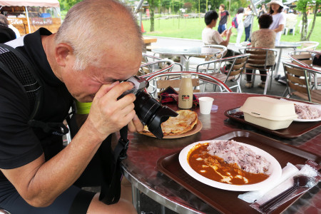 食べる前に撮る!