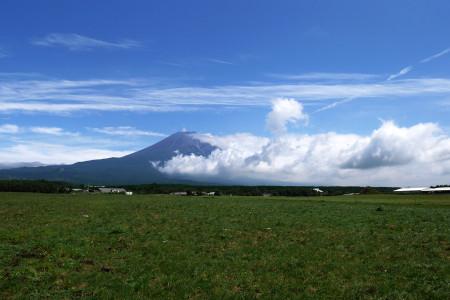 8月31日の富士山