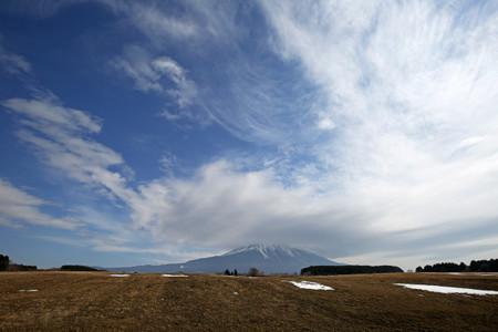 雲は豪快に広がる